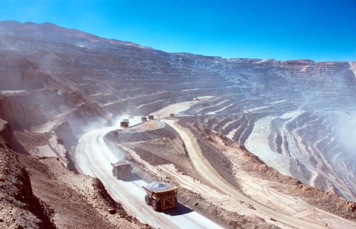 горная добыча руды